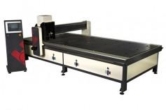 Composite panel processing machines